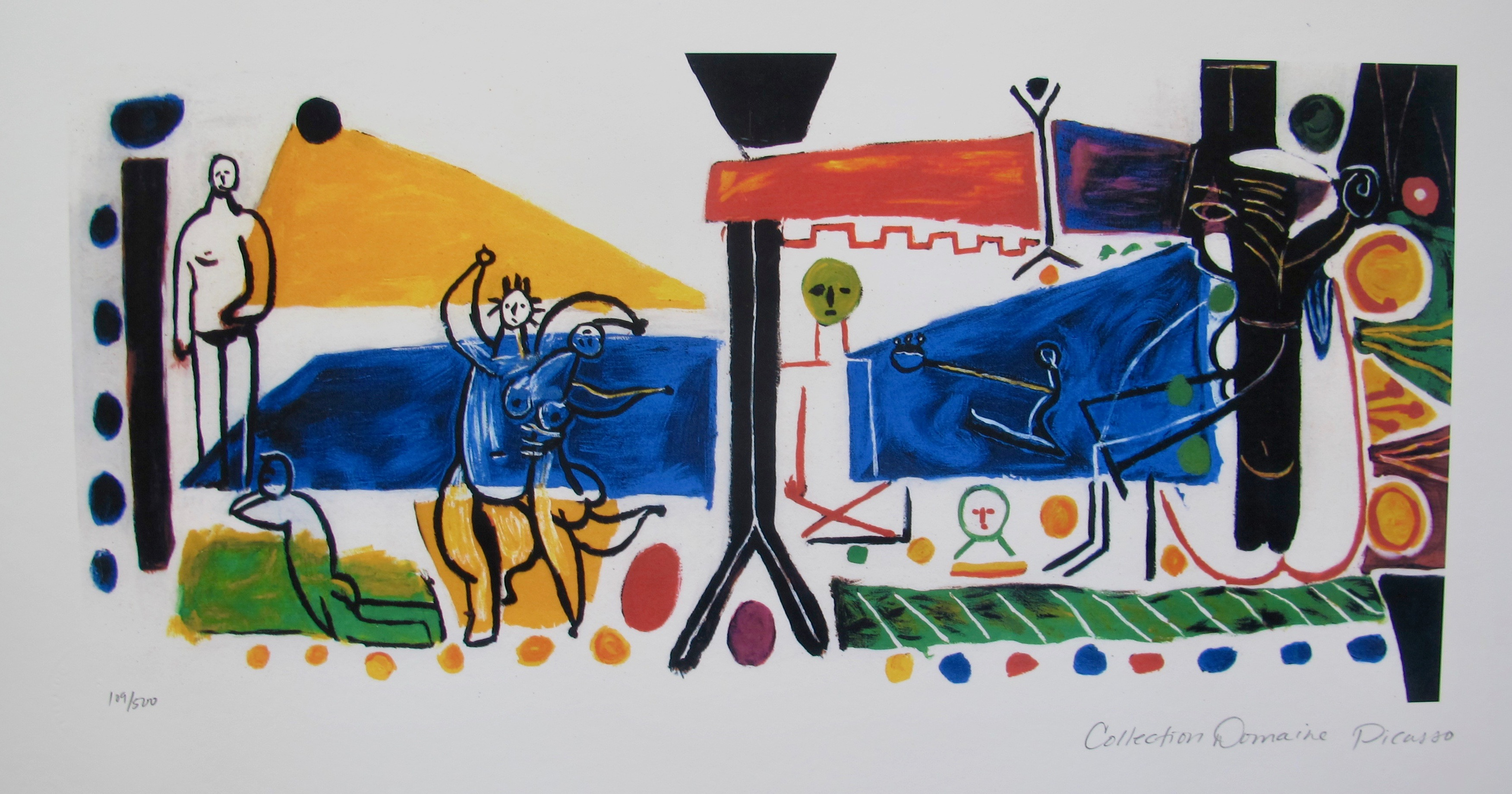 Pablo Picasso FAMILY Estate Signed Limited Edition Giclee