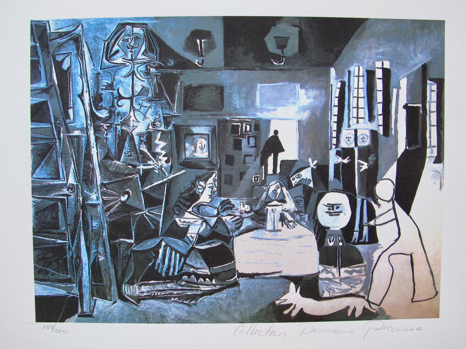 Pablo Picasso NIGHT SCENE Estate Signed Limited Edition Giclee