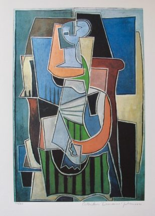 Pablo Picasso ABSTRACT Estate Signed Limited Edition Giclee