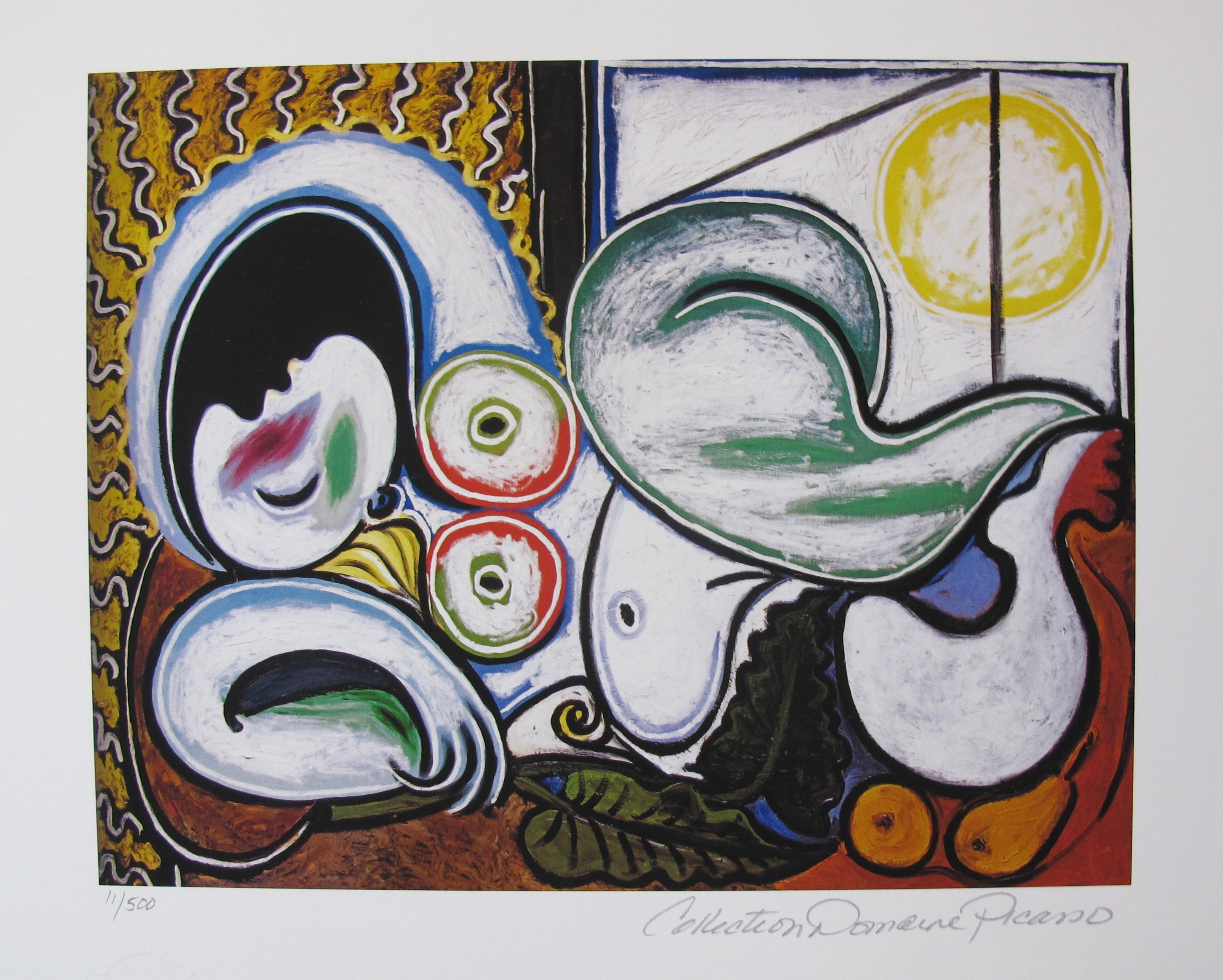 Pablo Picasso RECLINING NUDE IN SUN Estate Signed Limited Edition Giclee