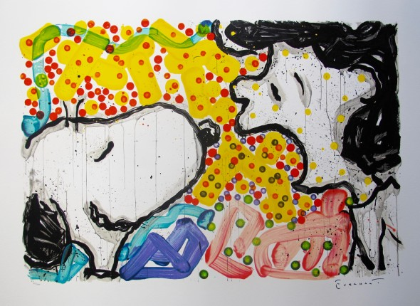 TOM EVERHART DRAMA QUEEN Hand Signed Lithograph