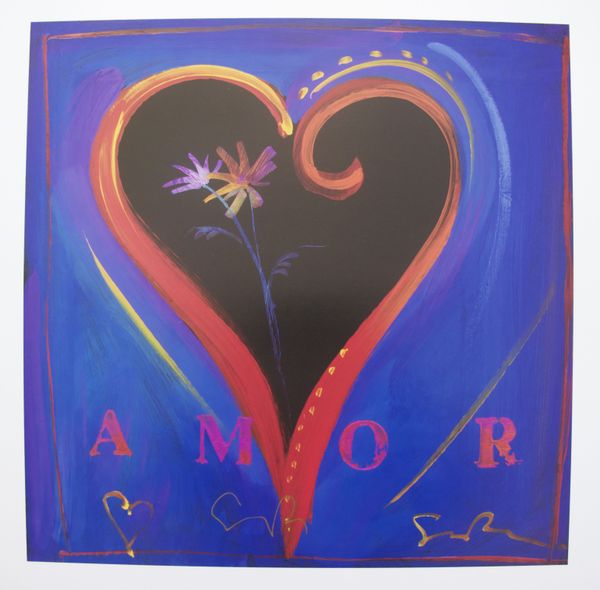 Simon Bull AMOR IV Hand Signed Limited Ed. Lithograph