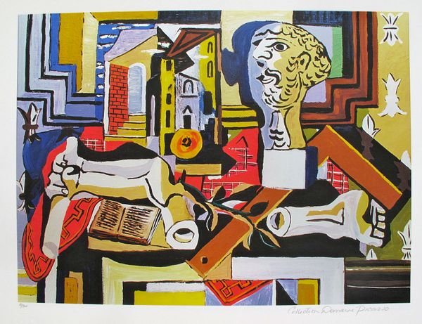 #093 SCULPTURE'S STUDIO Pablo Picasso Estate Signed Giclee