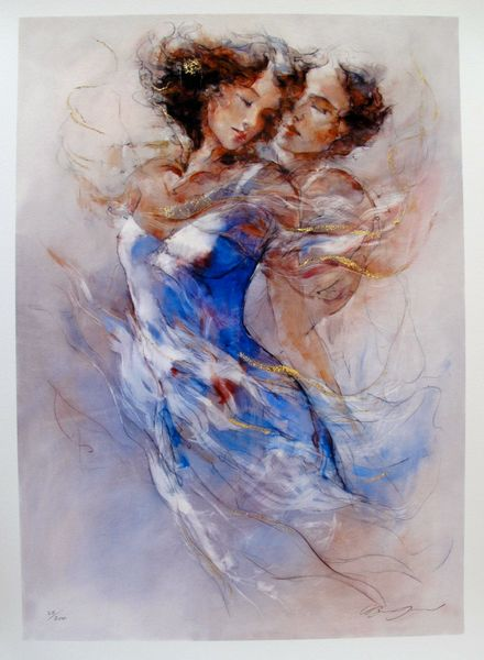 Gary Benfield ARDENT LOVE Hand Signed Limited Ed. Giclee