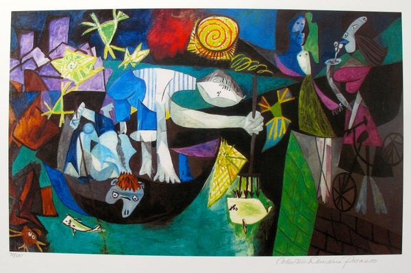 #151 NIGHT FISHING AT ANTIBES Pablo Picasso Estate Signed Giclee