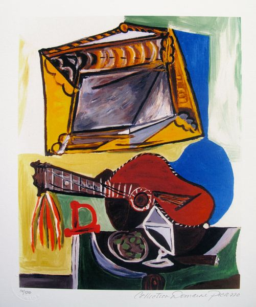 Pablo Picasso STILL LIFE WITH GUITAR Estate Signed Limited Edition Small Giclee