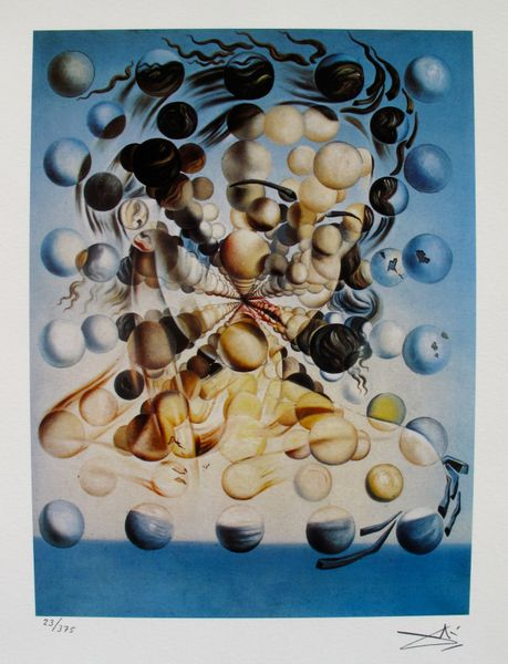 Salvador Dali GALATEA OF THE SPHERES Facsimile Signed & Numbered Giclee