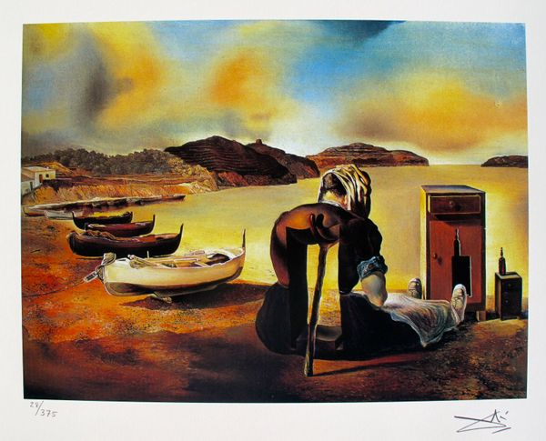 Salvador Dali THE WEANING OF FURNITURE NUTRITION Facsimile Signed & Numbered Giclee