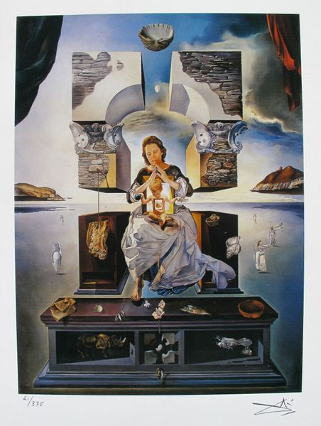 Salvador Dali MADONNA OF PORT LLIGAT Facsimile Signed & Numbered Giclee
