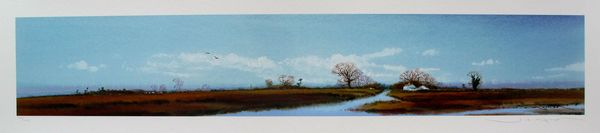 Ged Mitchell LANDSCAPE VI Hand Signed Limited Edition Giclee