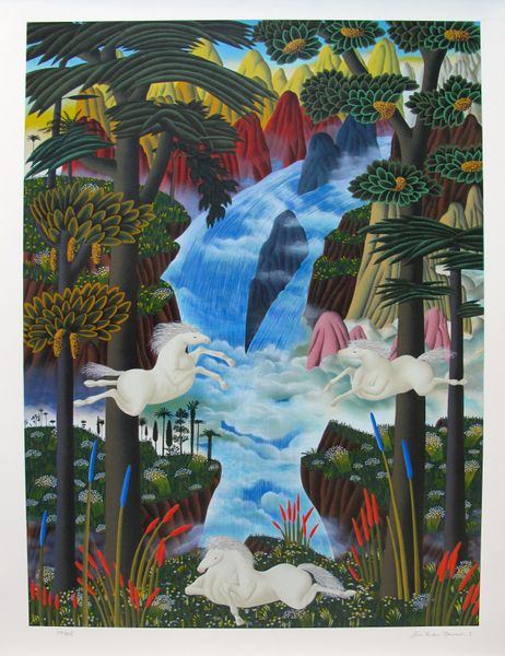 Jose Carlos Ramos POWER IN NATURE Hand Signed Limited Ed. Serigraph
