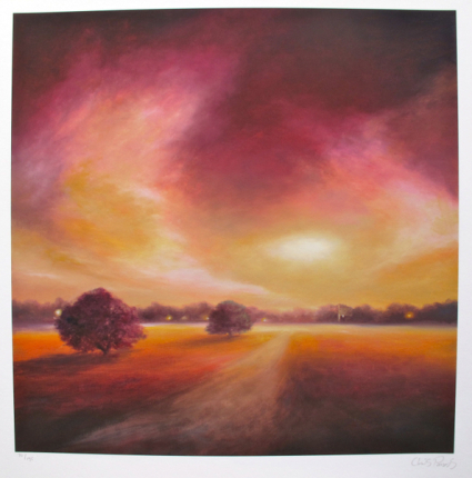 Chris Parsons DUSK LIGHT Limited Ed. Hand Signed Giclee