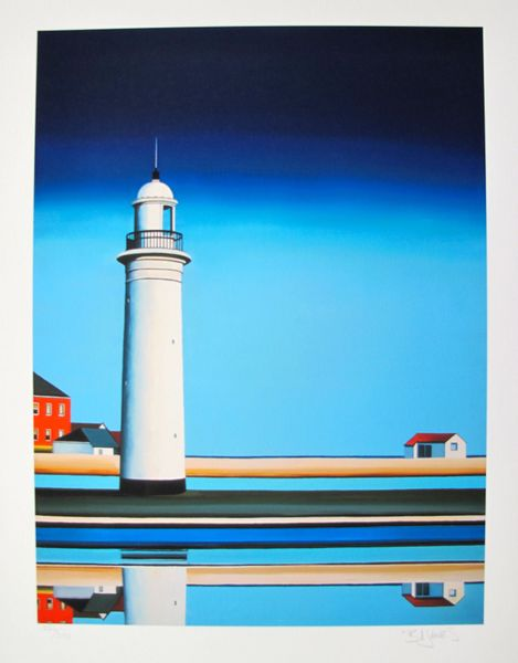 Barbara James ON A CLEAR DAY Hand Signed Limited Ed. Giclee