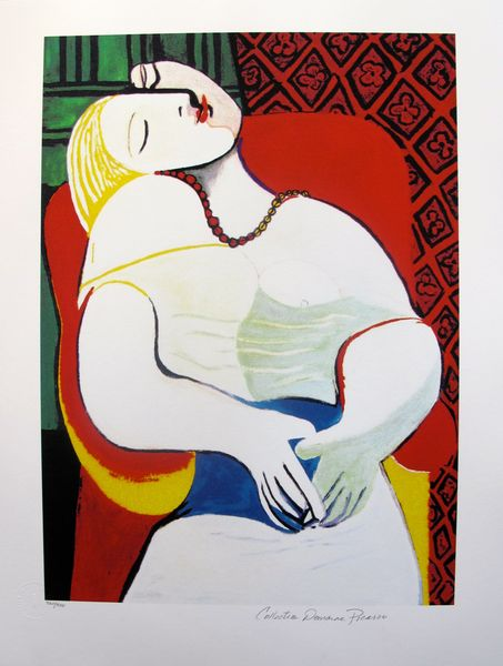 #75 THE DREAM Pablo Picasso Estate Signed Giclee