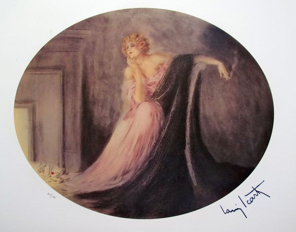Louis Icart SAPHO Limited Edition Giclee