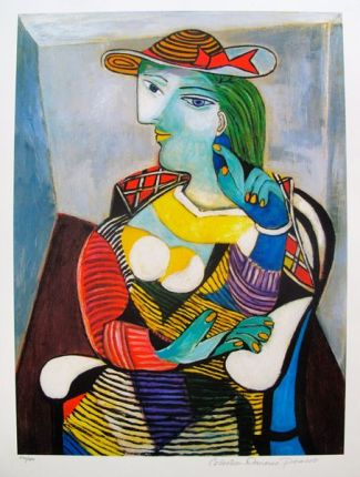 Pablo Picasso Portrait of Marie Therese Walter Giclee