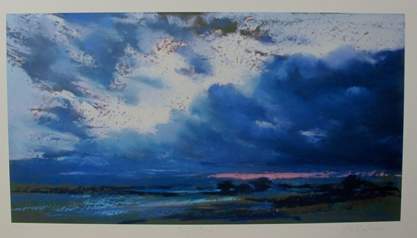 "NEL WHATMORE ""DAY IS DONE"" Hand Signed Limited Edition Giclee"