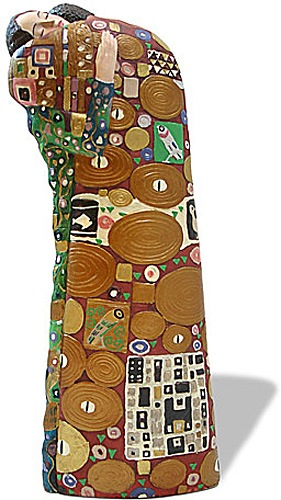 Gustav Klimt THE FULFILLMENT Licensed Museum Sculpture NEW!