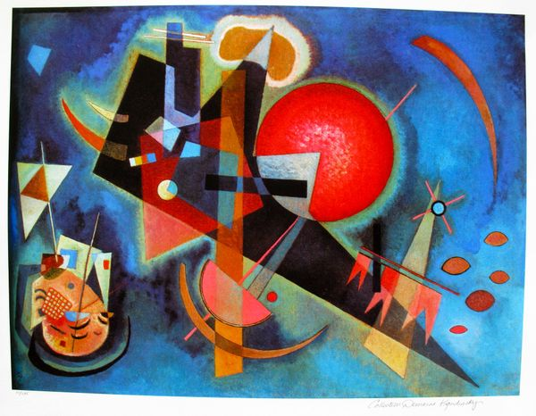 Wassily Kandinsky IN BLUE Estate Signed Limited Edition ...