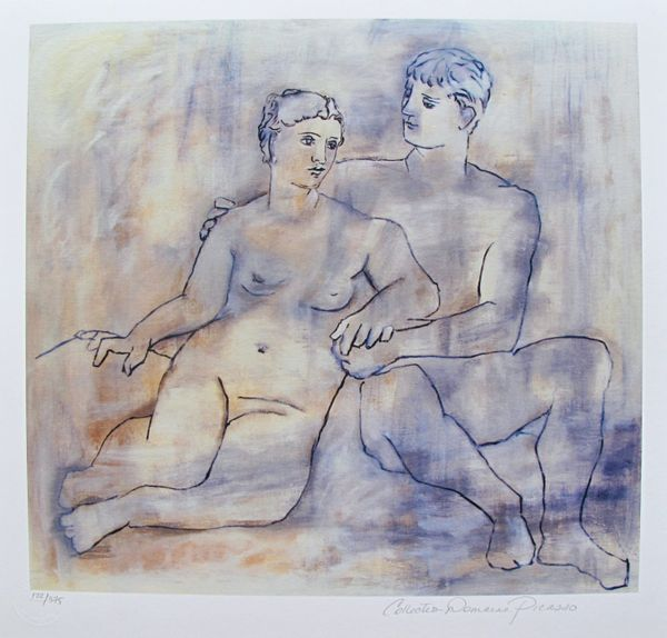 #06 THE LOVERS Pablo Picasso Estate Signed Giclee