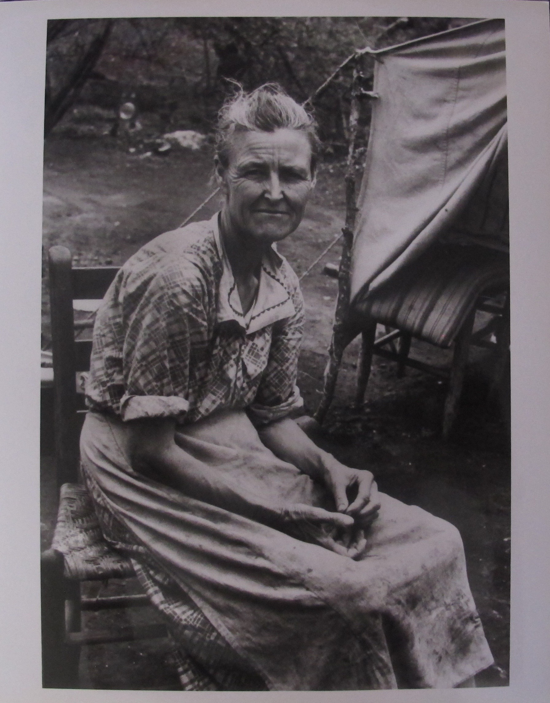 CARL MYDANS PHOTO MIGRANT WOMAN TEXAS