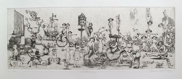 Charles Bragg NOCTURNE Hand Signed Limited Edition Etching
