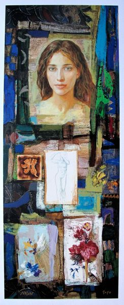 Goyo Dominguez NOMBRE DE MUJER Limited Ed. Hand Signed Giclee