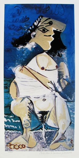#101 NUDE FIGURE Pablo Picasso Estate Signed Giclee