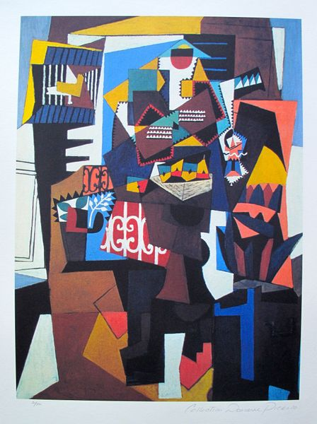 #143 ABSTRACT Pablo Picasso Estate Signed Giclee