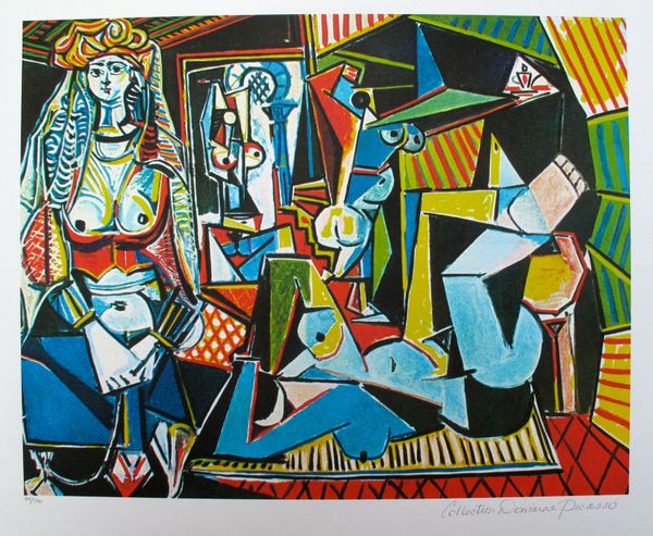 #149 WOMEN IN ALGIERS Pablo Picasso Estate Signed Giclee