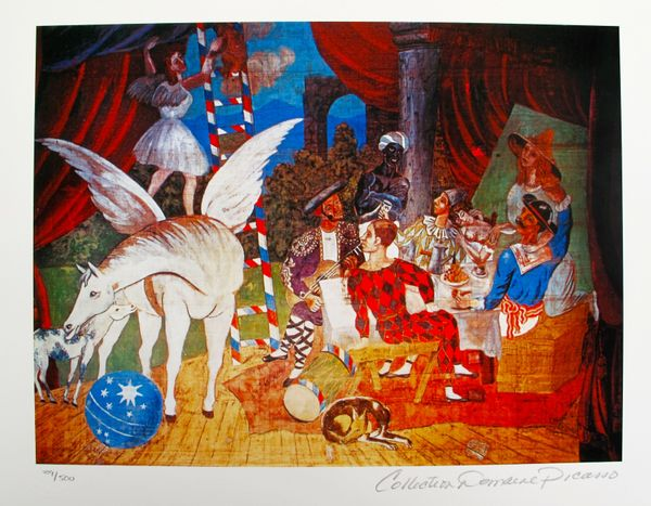 Pablo Picasso THEATRE Estate Signed Limited Edition Small Giclee