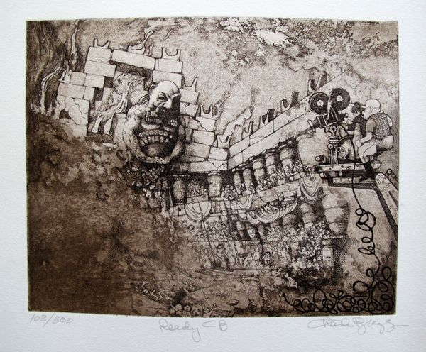 Charles Bragg READY CB Hand Signed Limited Ed. Etching