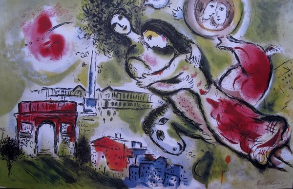 Marc Chagall ROMEO AND JULIET Limited Edition Lithograph