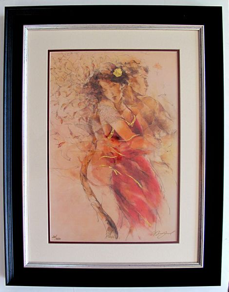 Gary Benfield ROSA Hand Signed Limited Ed. Framed Serigraph
