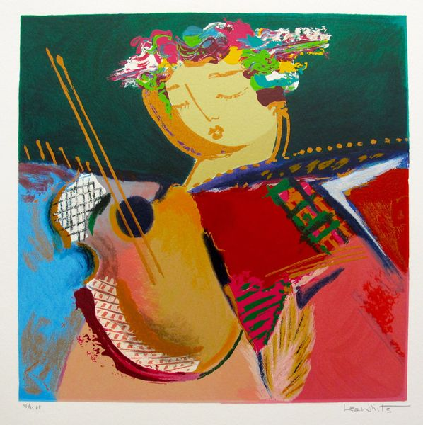 Lee White SERENADE I Hand Signed Limited Edition Serigraph