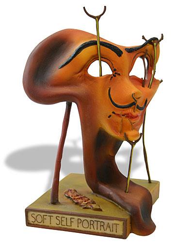 Salvador Dali SOFT SELF PORTRAIT WITH FRIED BACON Sculpture