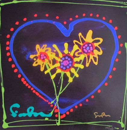 "SIMON BULL ""SUNSHINE"" Hand Signed Giclee on Canvas"