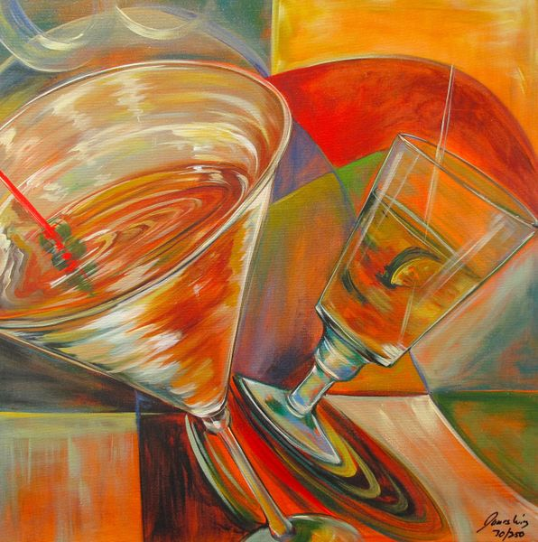 James Wing RUM RUNNER Hand Signed Limited Ed. Giclee on Canvas