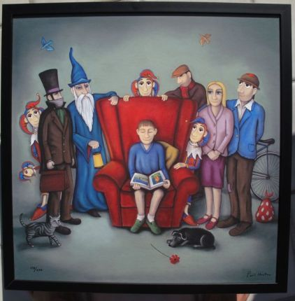 Paul Horton WORLD OF IMAGINATION Hand Signed Limited Ed. FRAMED Giclee